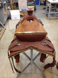 Wade tree ranch saddle for sale