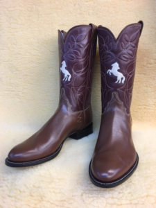 Light brown softy water buffalo boots