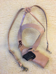 Shoulder harness holster