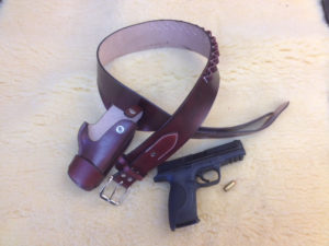 Holster and ammo belt