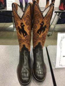 Winning cowboy boots