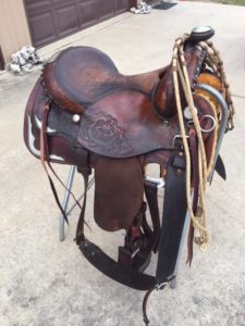 saddle rebuilt